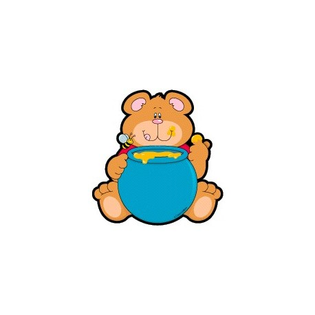 Bears Colorful Cut-Outs - CD5527