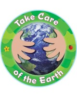 Take Care of the Earth Cut-Outs - CTP6236