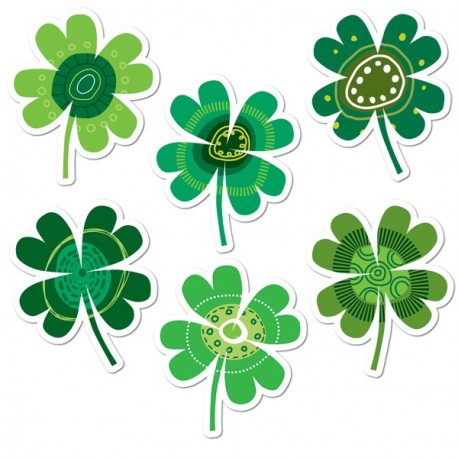 Shamrocks Cut-Outs - CTP3882
