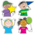 Stick Kids Designer Cut-Outs - CTP4679