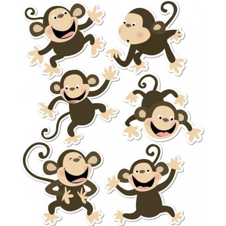 Monkeys Cut-Outs - CTP6431