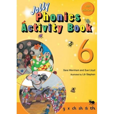 Jolly Phonics Activity Book 6