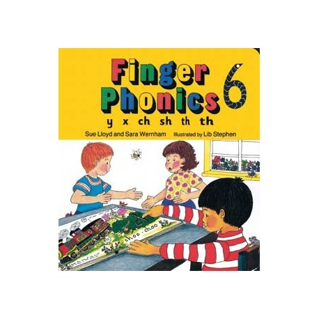 Finger Phonics 6 Jolly Phonics