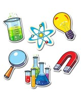 "Science Lab 6"" Designer Cut-Outs CTP3875"