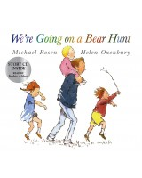 We're going on a bear hunt Story CD inside