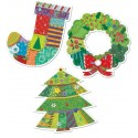 Winter Holiday Cut-Outs CTP 6437