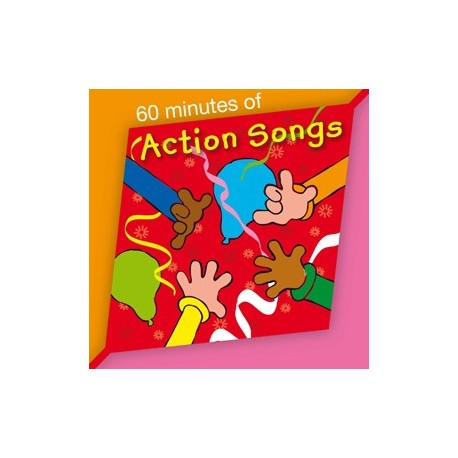 60 minutes of action songs