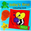 Baby's first colouring book Bee