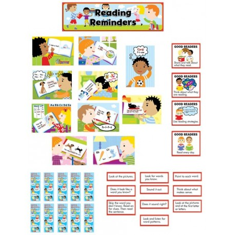 Reading Reminders Language Arts CTP3795