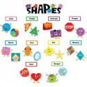 SHAPES MINI bulletin board set CTP6962