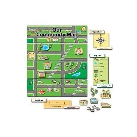 Our Community Map CTP3786