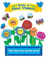 Garden Of Good Manners Mini Bulletin Board Set CTP1120