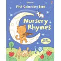 First colouring book: Nursery rhymes
