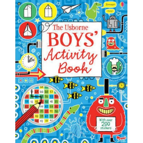 Boys' activity book