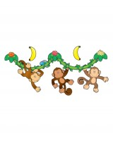 Monkeys bulletin board set