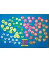 phonics tricky word wall flowers