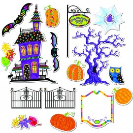 Poppin' Patterns Spooktacular Bulletin board
