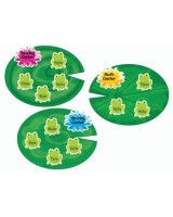 Frogs and Lily Pads Bulletin Board Set