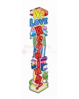 We Love Reading! Big Banner