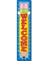 Welcome Pencil Big Banner
