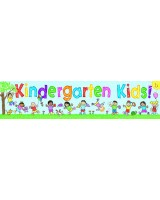 Kindergarten Kids Giant Banner