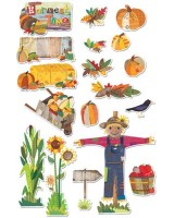 Autumn Harvest bulletin board CTP1641