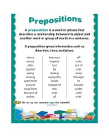 Prepositions CTP5706