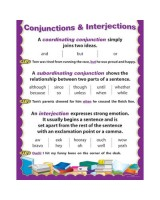 Conjuntion and interjection CTP5707