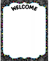 BW Collection Welcome Poster Chart