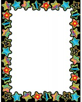 Poppin' Patterns Stars Poster Chart