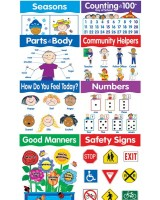 More Basic Skills 8-Chart Pack