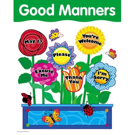 Good Manners Basic Skills Chart