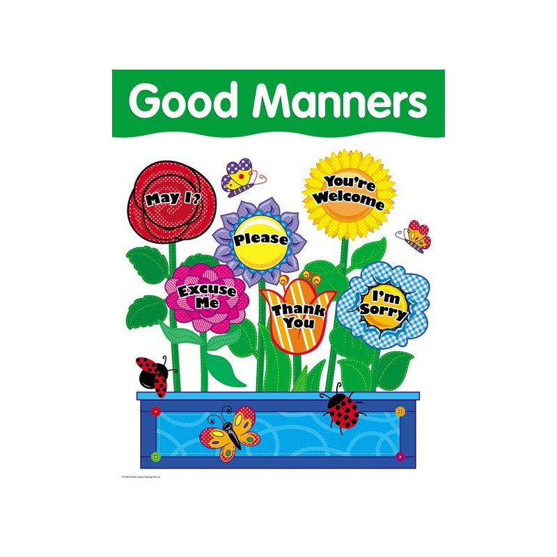 Good manners are infectious