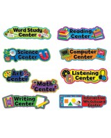 Poppin' Patterns Learning Center Signs