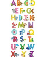 The Alphabet Mini Bulletin Board Set