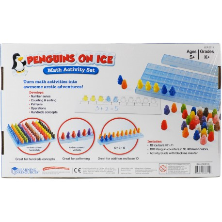 Penguins on Ice™ Math Activity Set