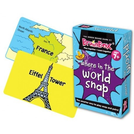 Where in the World Snap Card Game