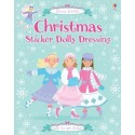 Christmas Sticker Dolly Dressing