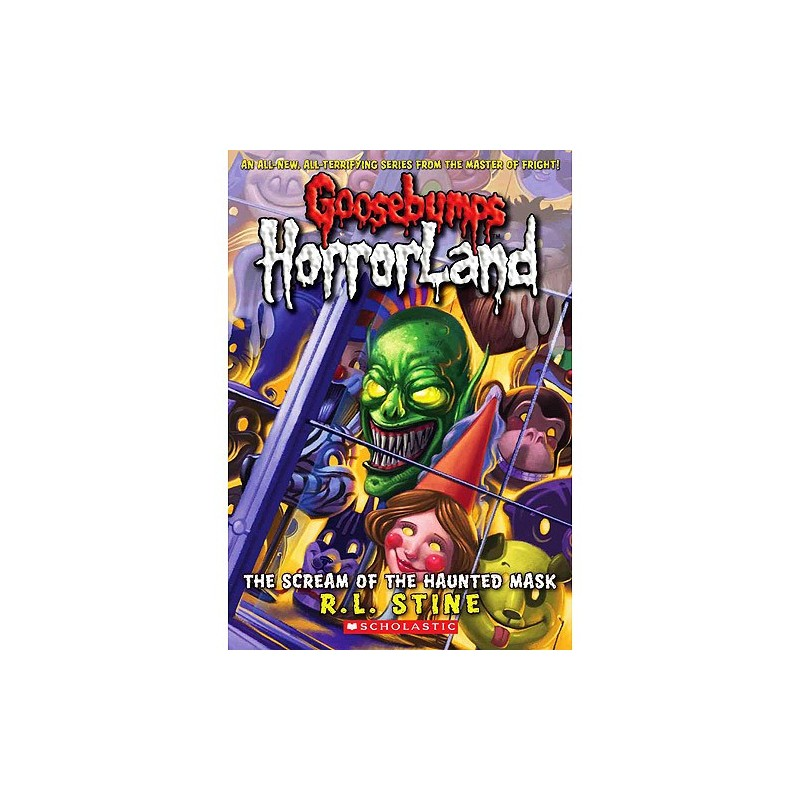 goosebumps horrorland the scream of the haunted mask book report Scream of the haunted mask (goosebumps horrorland #4) ebook: rl stine: amazonca: kindle store.