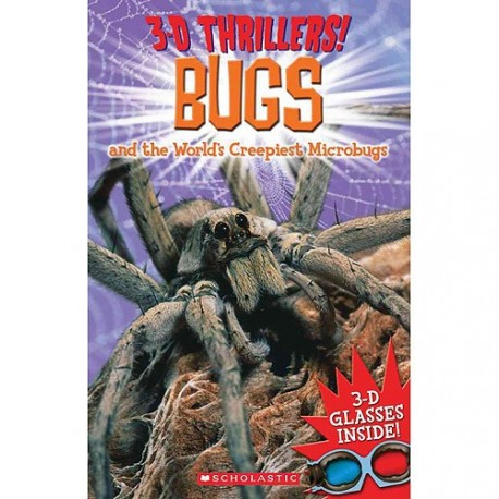 3D Thrillers! Bugs  and the other world  creepiest