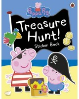 Peppa Pig - Treasure Hunt! Sticker book