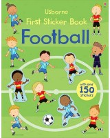 First sticker book fotball