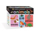 Flashcards - Animals (15 learn-a-language)