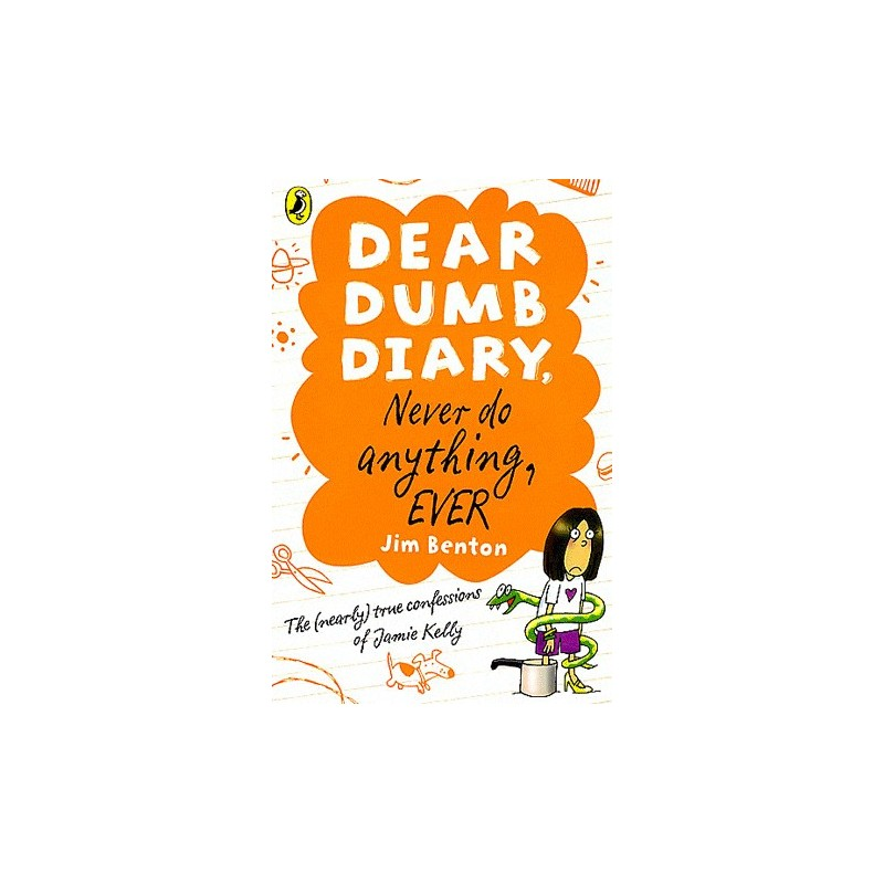 dear dumb diary never do anything ever book report Dear dumb diary is a series of children's novels by jim benton each book is written in the first person view of a middle school girl named jamie kelly the series is published by scholastic in english and random house in korean film rights to the series have been optioned by the gotham group.