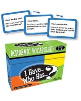 I have… Who has…? Academic vocabulary 1-2