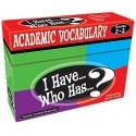 I have… Who has…? Academic vocabulary 2-3