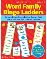 Word family bingo ladders grade K-2