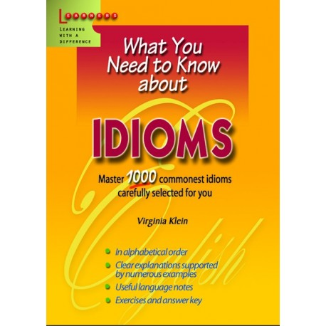 What you need about Idioms