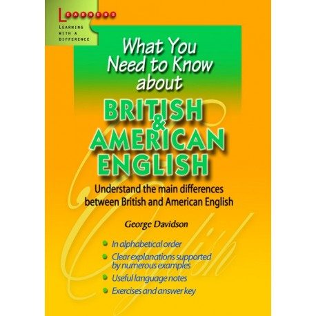 What you need about British and American English