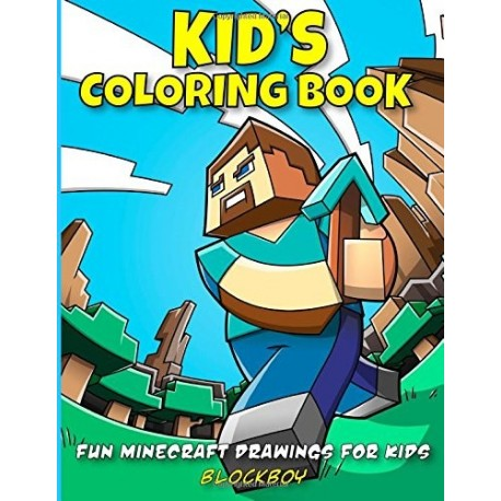 Kids Coloring Book Fun Minecraft Drawings For
